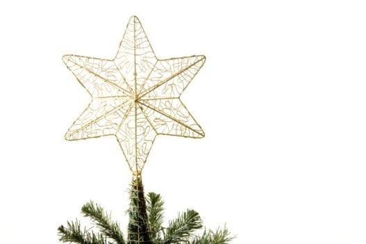 Juletræstop